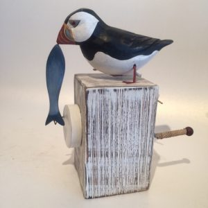 Ceramic Puffin Solva Sail Loft